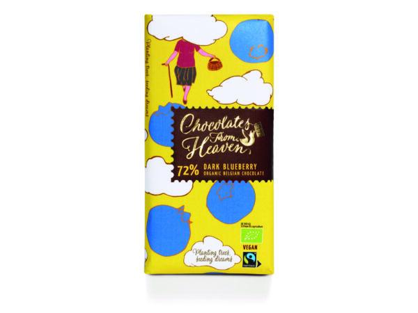 chocolates from heaven Blaubeerschokolade