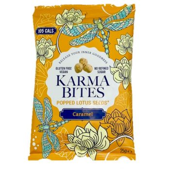 Karma bites caramel Lotussamensnack